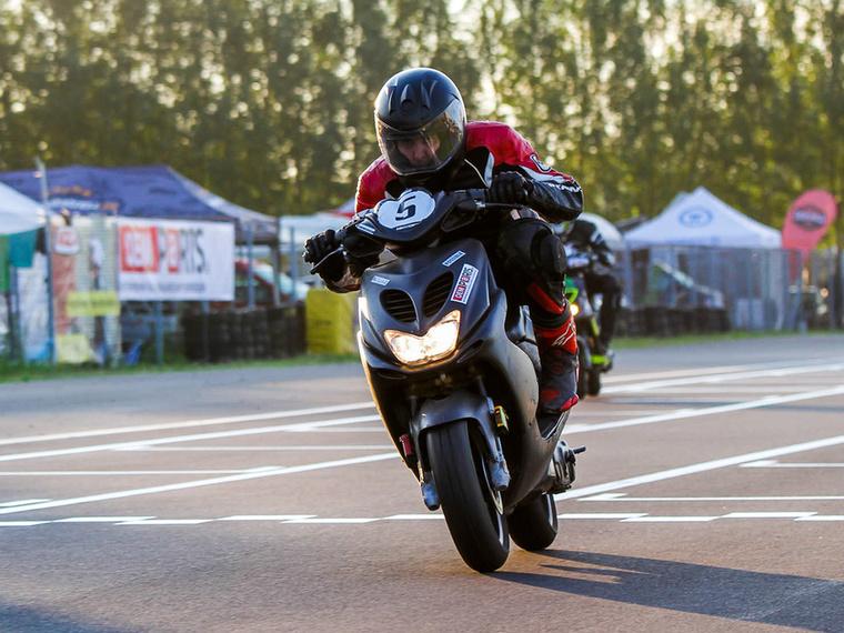 A Possible harmadik éve ugyanazzal a Yamaha Aerox-szal indul