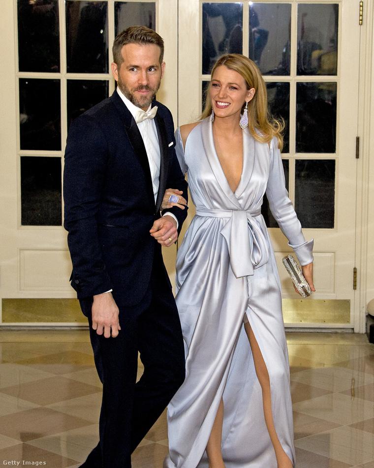Blake Lively a férjével, Ryan Reynoldsszal