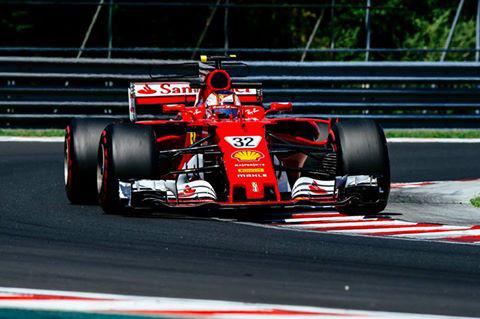 Leclerc kedden a Hungaroringen - szerdán Vettel és Räikkönen is vezeti a kocsit