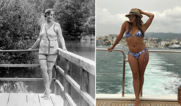Eva Longoriát rengeteget láthattuk bikiniben az elmúlt évben