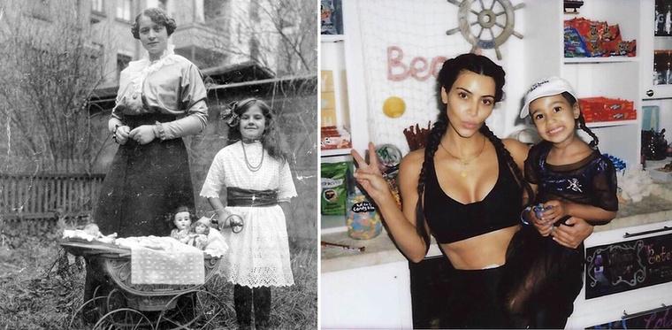 Anya-lánya portrék