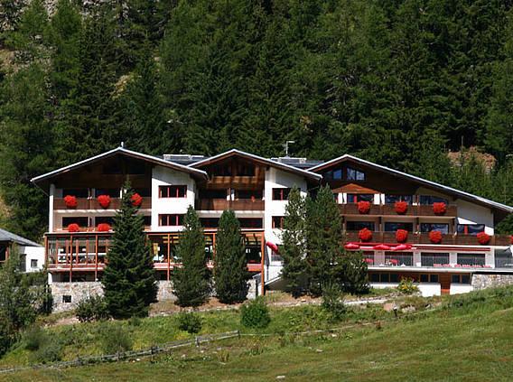 A Marlet Hotel Soldában (németül Sulden)