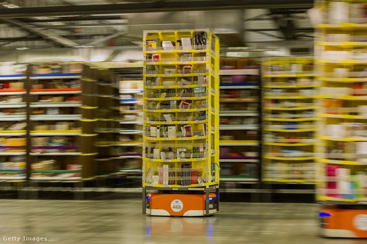 Az Amazon robotjai