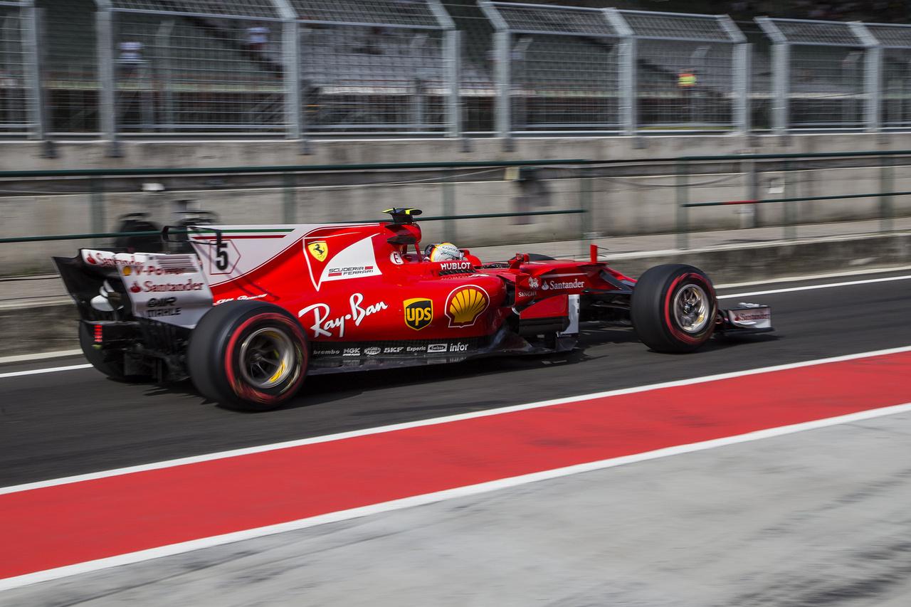 A bajnokesélyes Vettel számára jelenleg inkább a Spára való felkészülés volt a lényeg, ám ez nem gátolta meg a teszt első helyének megszerzésében. Elmondta, hogy a pálya teljesen eltérő jellege miatt a monzai futamra itt érdemben nem lehet készülni, ezért ez náluk nem volt fókuszban