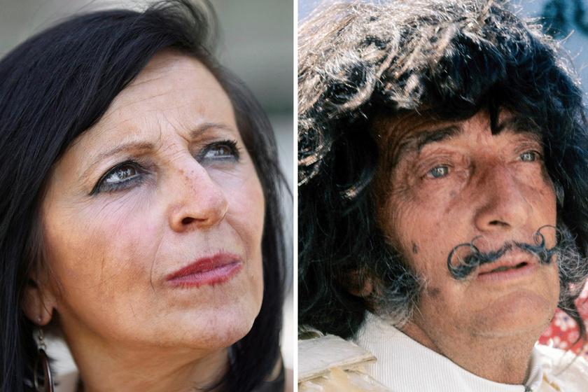 Pilar Abel és Salvador Dalí