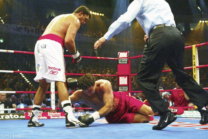 2003-ban Corrie Sanders ellen Klicsko vereséget szenvedett
