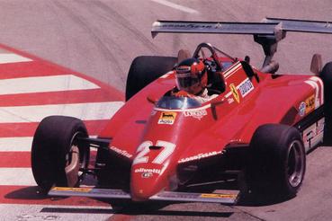 1982-ben a Ferrari kísérletezett dupla hátsó szárnnyal a Long Beach-i futamon. A 126C2-est itt Gilles Villeneuve terelgeti. Az autó nemcsak ezért különleges: a ground effect elvét felhasználó szoknyás versenyautók oldaldobozai alatt jókora diffúzorok rejtőztek. A konstrukciónak Villeneuve halálos baleseténél is jelentősége volt