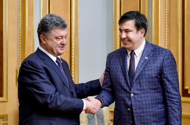 Porosenko és Szaakasvili