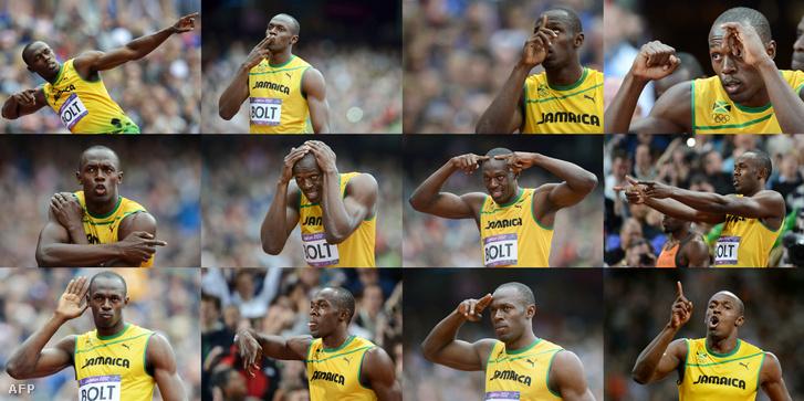 Usain Bolt már 2012-ben, Londonban megmutatta, hogy milyen az igazi show