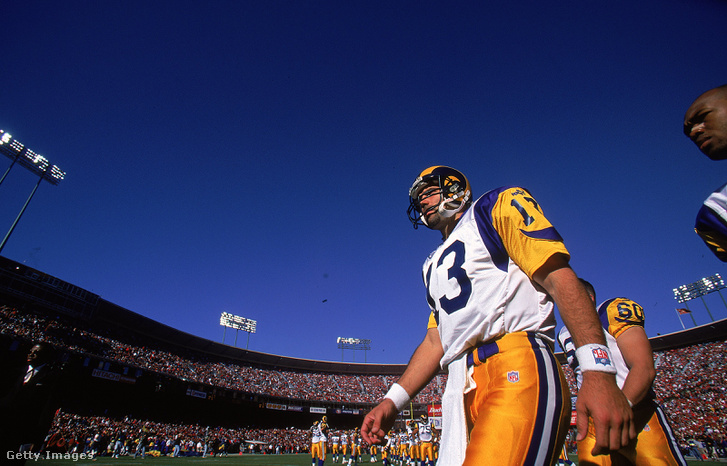 A St. Louis Ramsnél igazi szupersztár lett Warnerből, pedig csak kényszermegoldás volt
