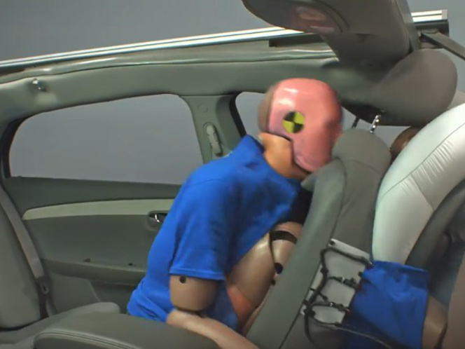 IIHS Rear Seat Safety