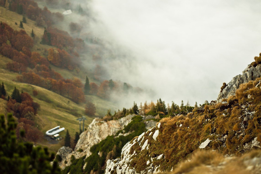 schneeberg hegyoldal