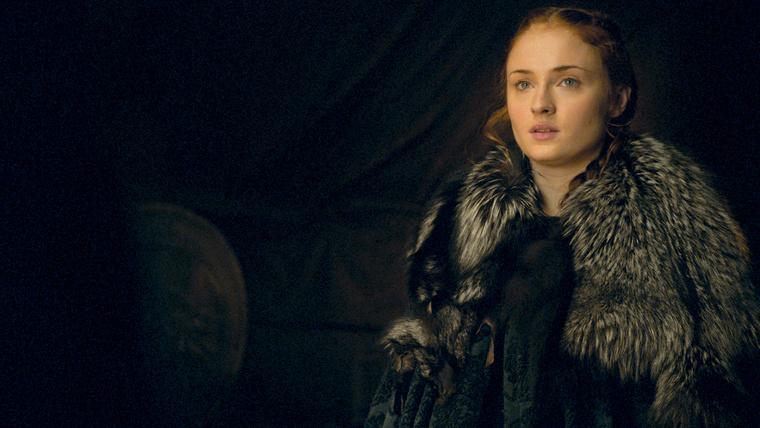 Sophie Turner Sansa Stark szerepét játssza a Trónok harca című sorozatban.