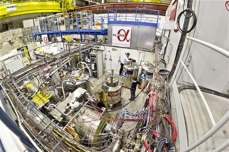 ALPHA, ahol az antihidrogént csapdába ejtették (kép: CERN/ALPHA)