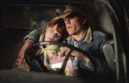 Heath Ledger egyik jelenete a Brokeback Mountain című filmből