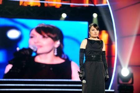 Szíj Melinda a Megasztár színpadán