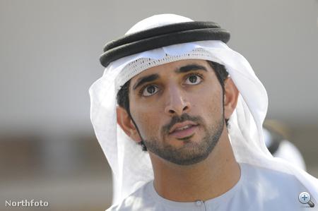 Portré Sejk Hamdan bin Mohammed al-Maktúmról