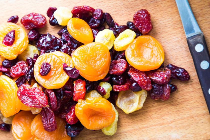 aszalt gyümölcs