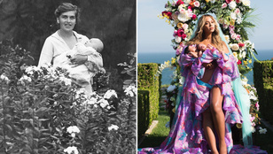 Összehasonlítottuk a múlt század eleji, nyári képeket a celebek Instagram-posztjaival