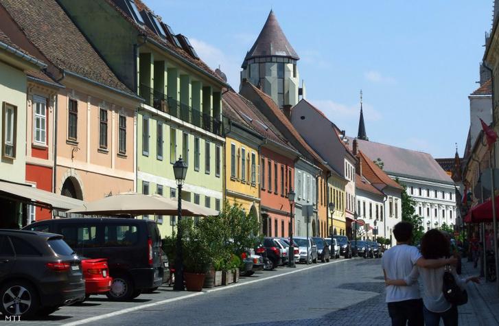 A Fortuna utca a budai Várban