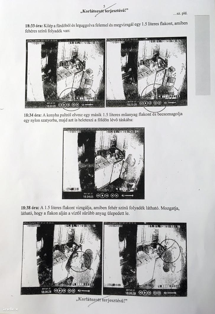 Kivonat a titkos megfigyelésről szóló nyomozati iratokból, S. Ábel ügyvédjeinek sajtótájékoztatóján