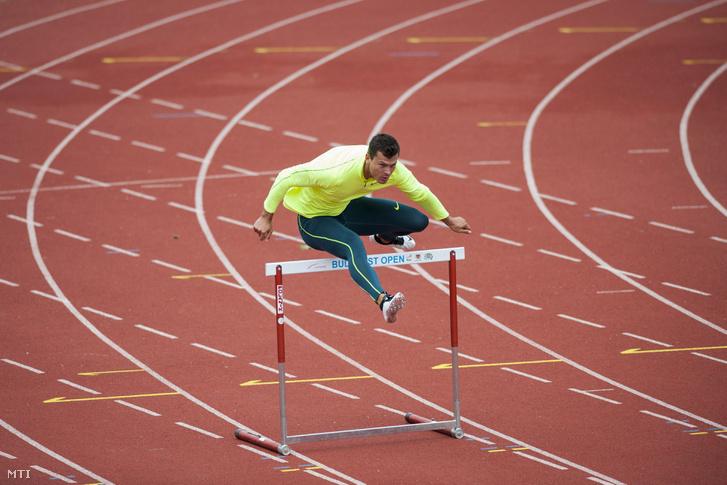 Baji Balázs edz a riói olimpia előtt.
