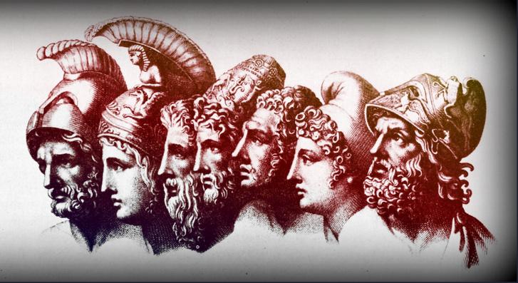 Az Iliász szereplői