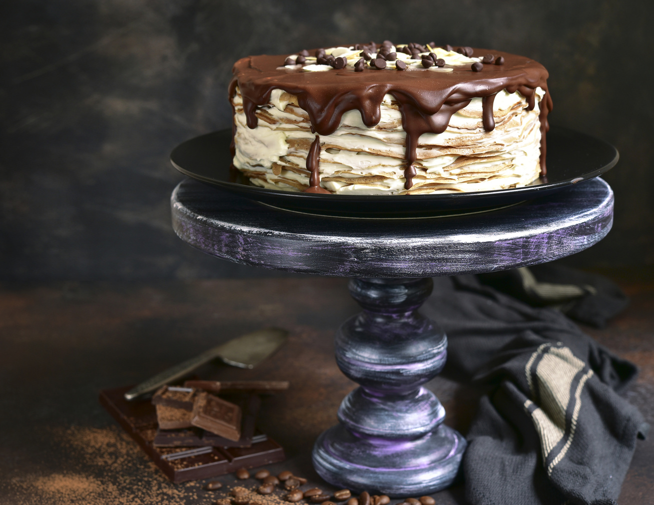 Krémes, emeletes palacsintatorta - Bármelyik sütivel felveszi a versenyt