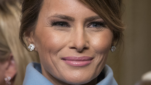 Előkerült egy felvétel, amin Melania Trump a férjével való szexuális életéről beszél
