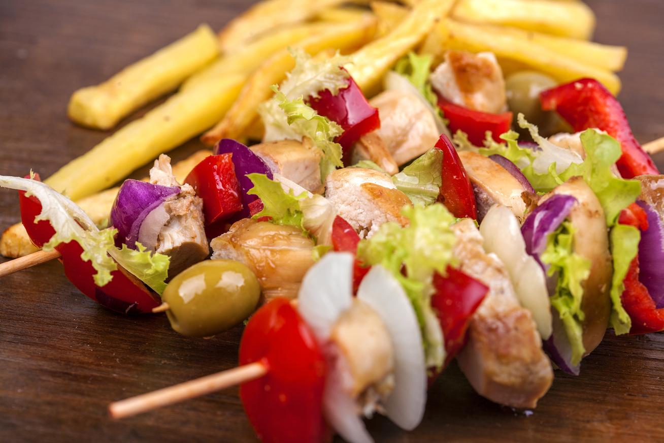 Citromos görög csirkenyárs - Grillen vagy sütőben is készítheted