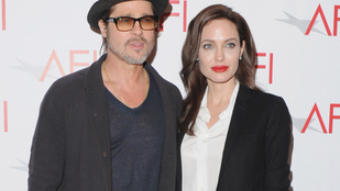 Hopp! Úgy tűnik, mégsem válik Angelina Jolie és Brad Pitt