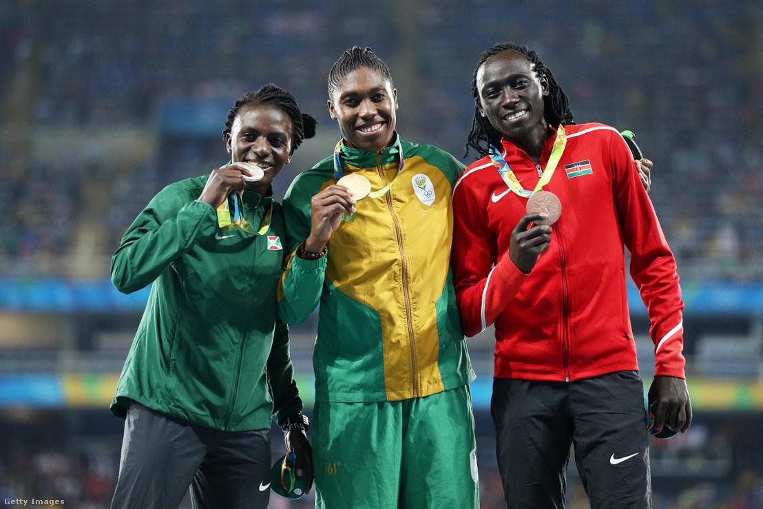 Niyonsaba, Semenya és Wambui az olimpiai dobogón
