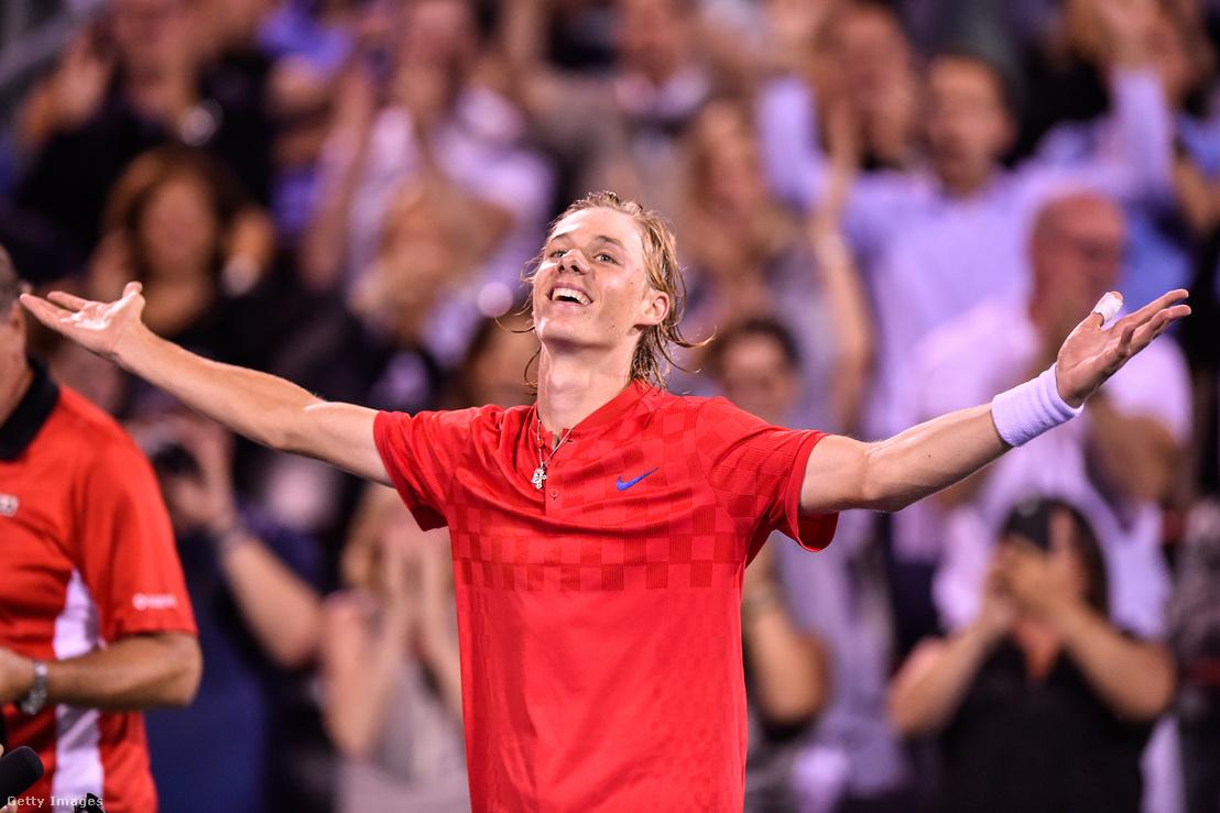 Így örült Nadal legyőzésének Shapovalov