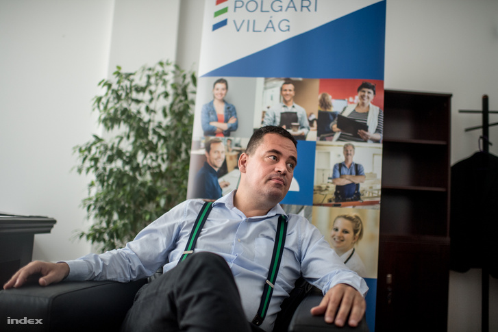 Keresztény Zoltán, 37 éves jogász