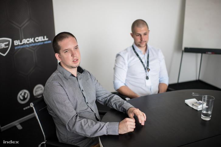 Luter Tibor és Gyebnár Gergő