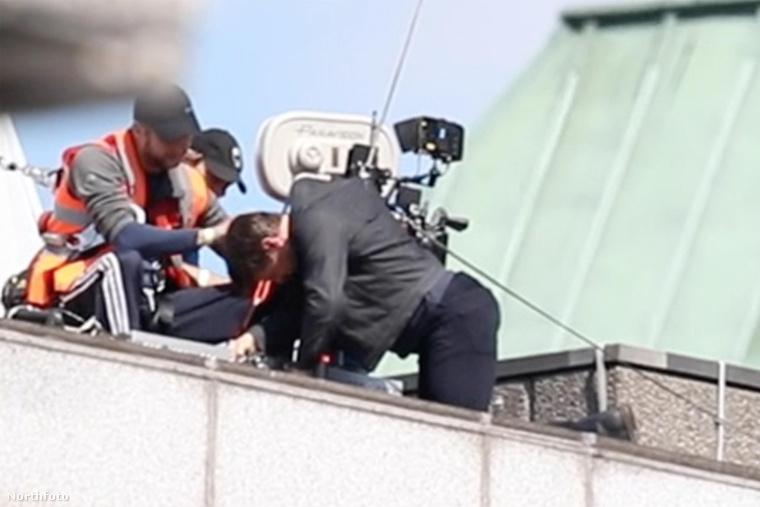 Ahogy arról egy korábbi cikkunkben beszámoltunk: Tom Cruise megsérült egy forgatás során.