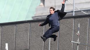 Így sérült meg Tom Cruise egy forgatás közben