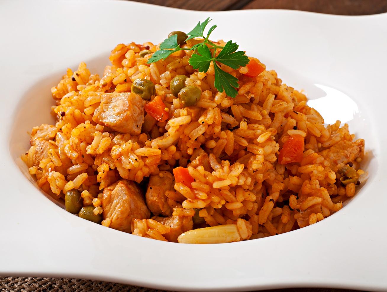 Zöldséges, rizses csirkemell - Egyedényes, gyors változat