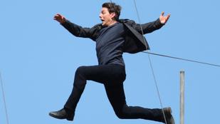 Tom Cruise elég komolyan megsérült
