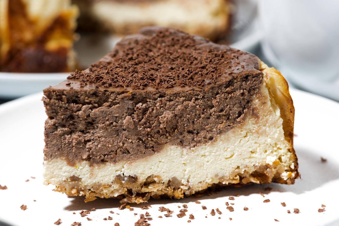 Házi kakaós-túrós pite, ami csodásan néz ki és elképesztően finom