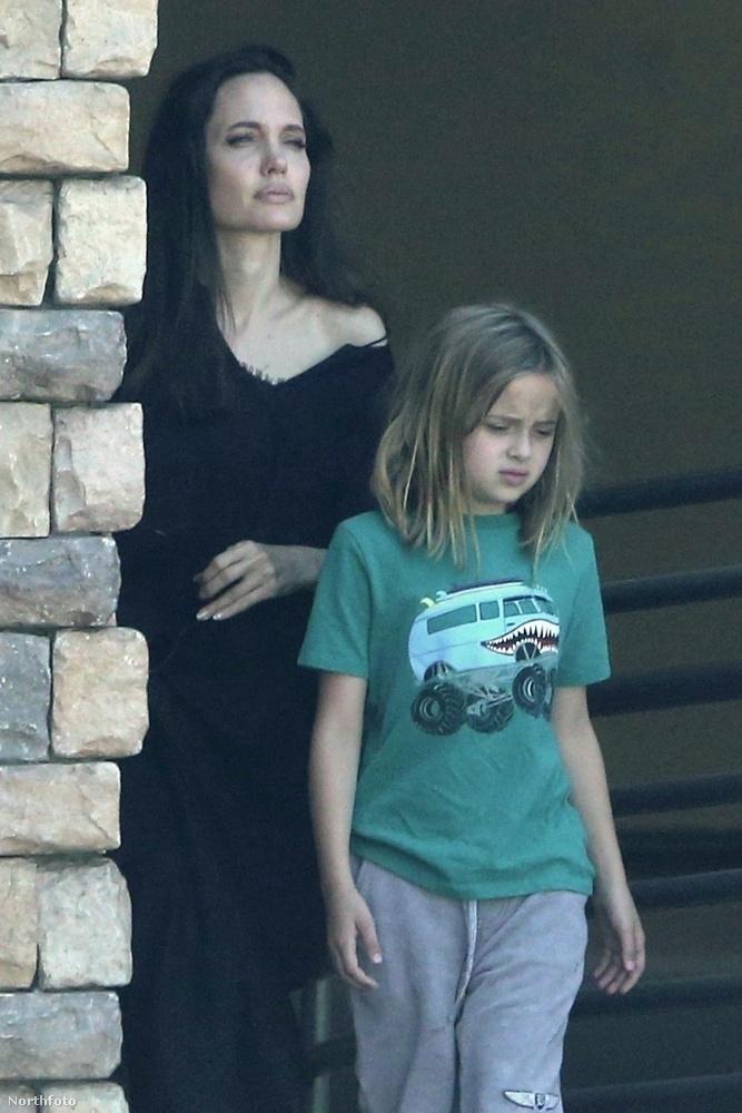 Angelina Jolie a napokban közös programra vitte a kilencéves lányát, Vivienne-t