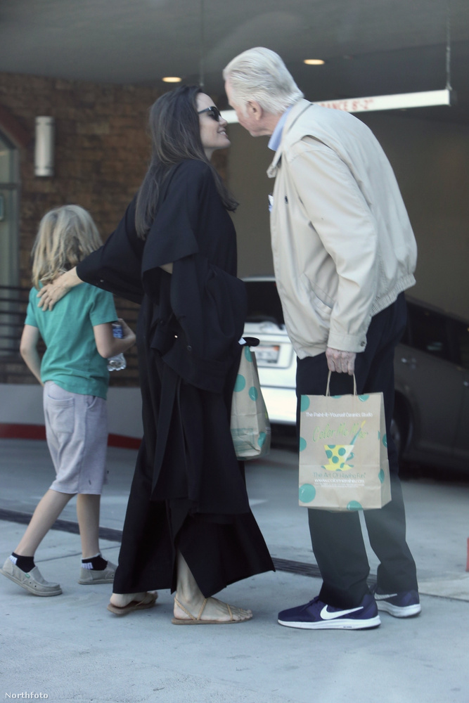 A békülésre végül 2010-ben került sor, ám a színész csak az elmúlt időben került közelebb az unokáihoz, mióta megy a nagy Jolie-Pitt válunk/nem válunk mizéria