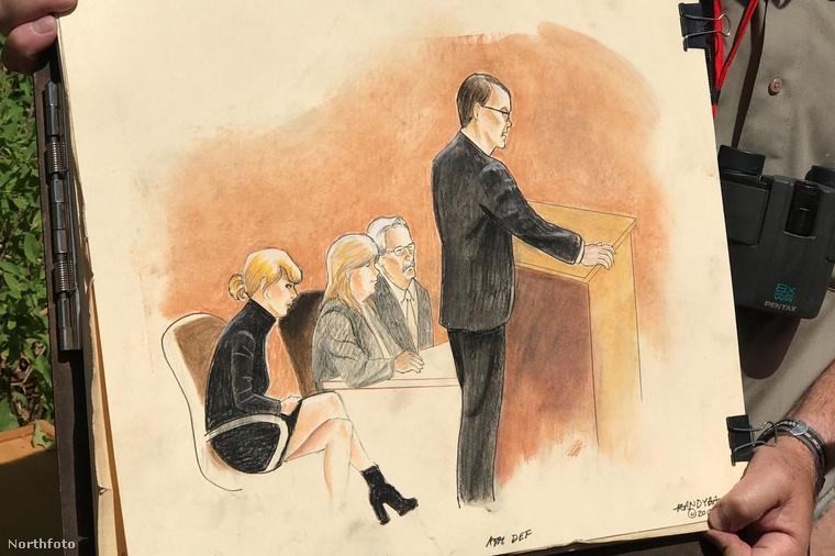 És hogy egy kicsit derűsen fejezzük be ez a nem éppen könnyed történetet: a bírósági rajzoló, aki néhány képet készített a tárgyalásról, végül megvédte magát azokkal szemben, akik szerint direkt csúnyára akarta rajzolni az énekesnőt a tárgyalótermi szkeccseken