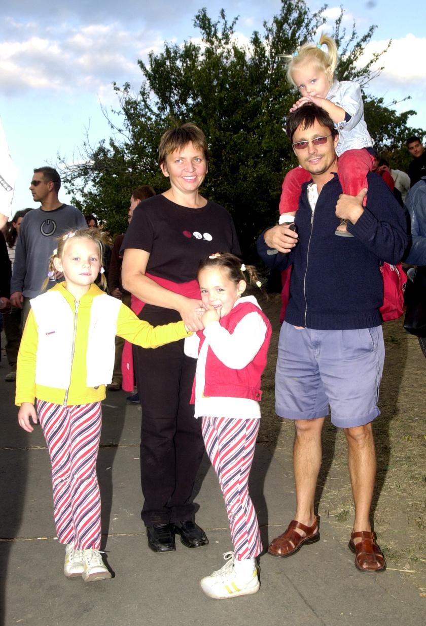 Vizy András és családja