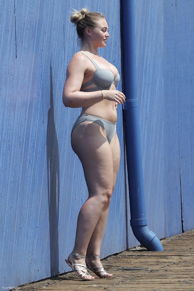 Hanem Body Positive, azaz pozitív testkép modell.