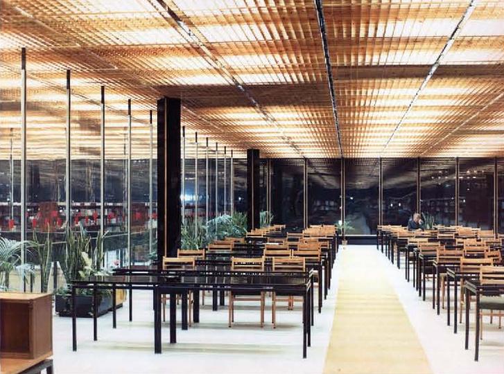A Miskolci Egyetem könyvtára, amellyel az Ybl-díjat kiérdemelte