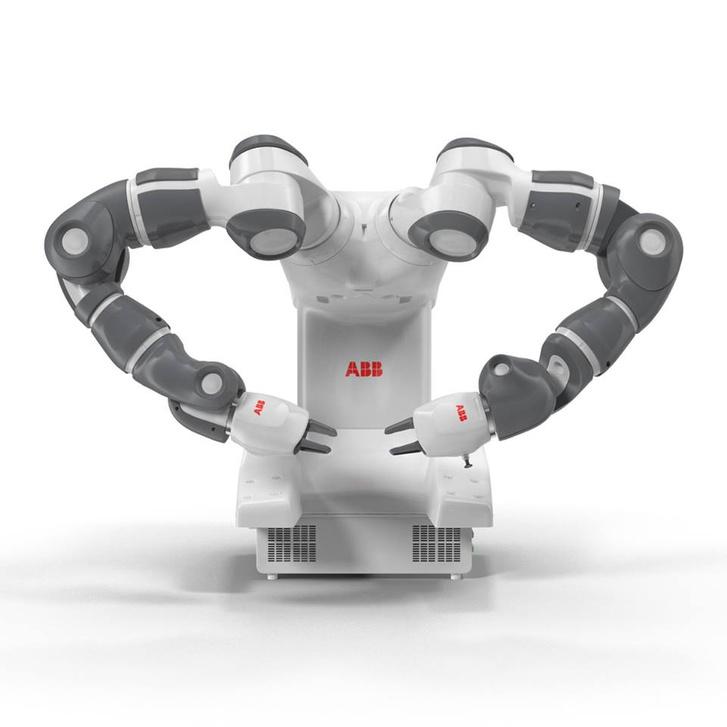 A svájci fejlesztésű YuMi nevű robot gesztusai roppant kifinomultak, kifejezőek