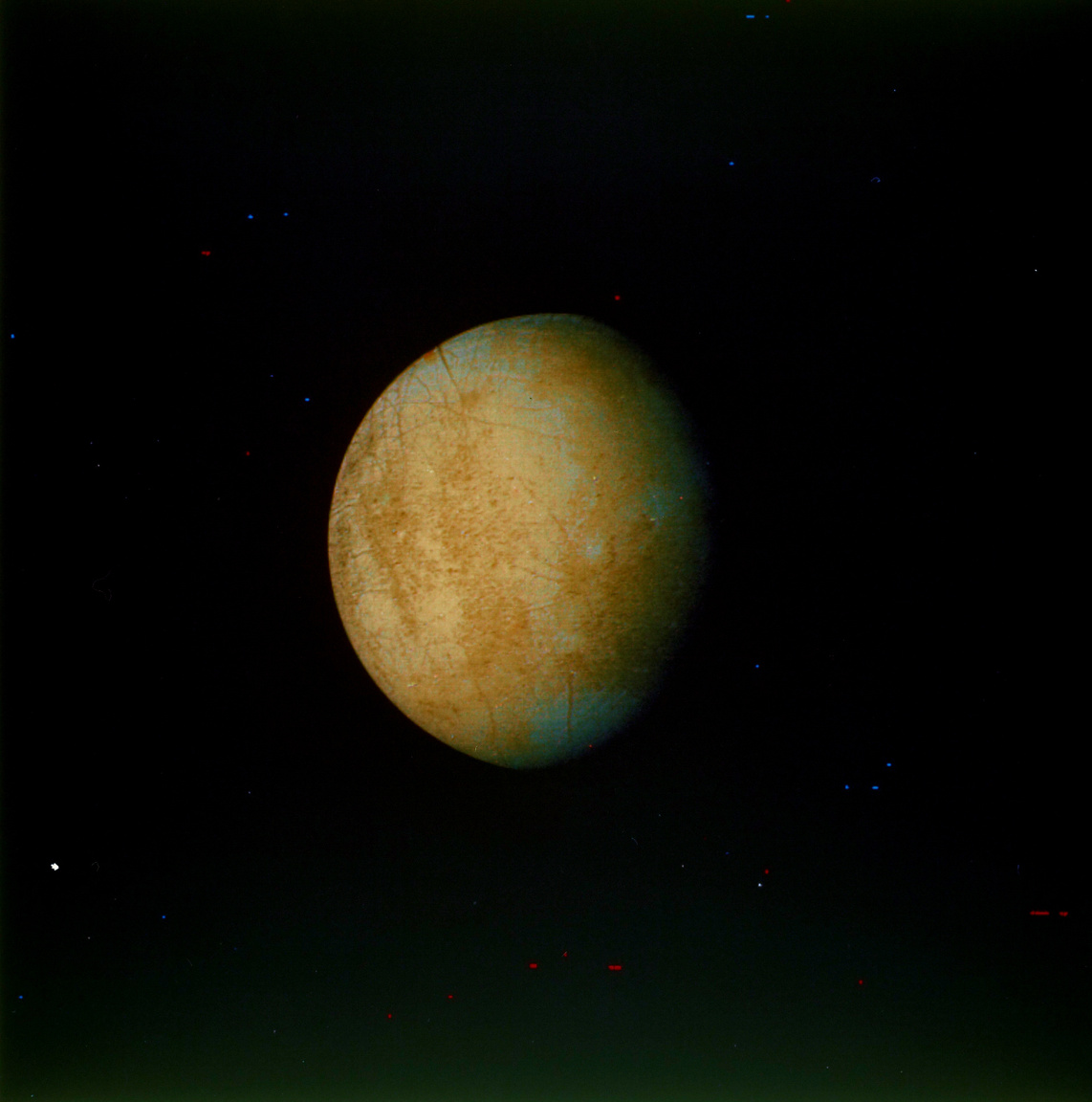 1979. július 8. A Voyager 2 felvétele az Europáról.