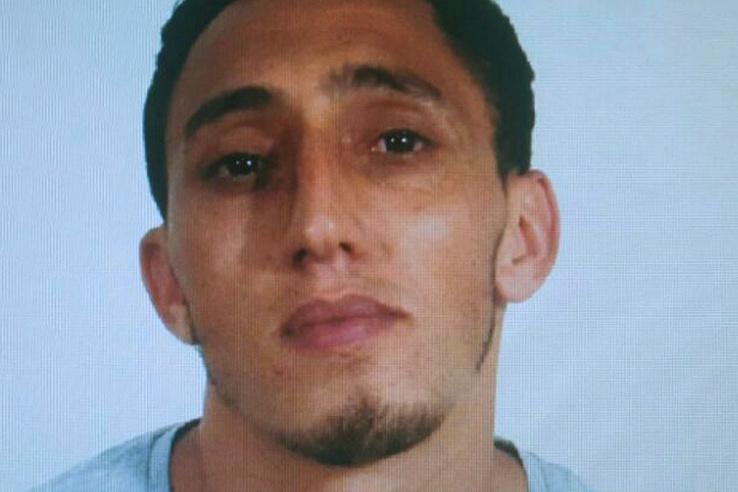 A spanyol országos rendőrség által közreadott kép Maghrebi Driss Oukabir marokkói származású spanyol férfiról aki feltehetőleg a Barcelonában 2017. augusztus 17-én elkövetett gázolásos merénylethez használt furgont bérelte.