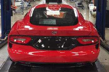 Elkészült a legutolsó Dodge Viper